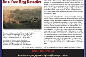 Tree ring dating lesson plan