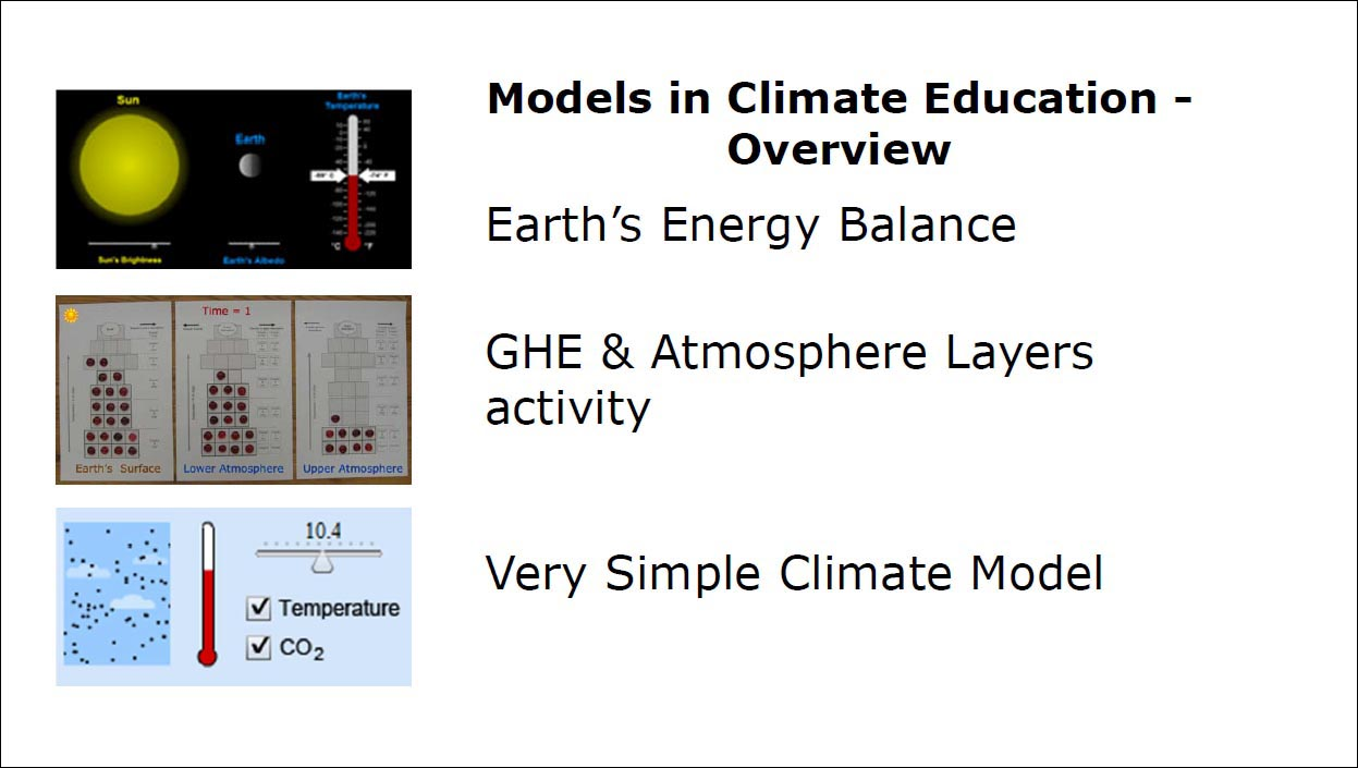 Using Simple Modes in Climate Change Education