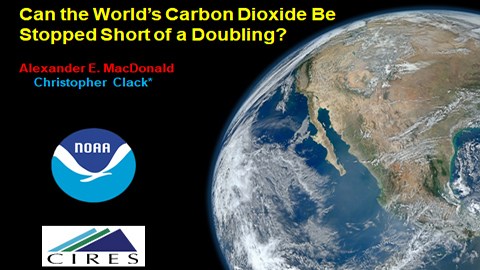 Can the World's CO2 be Stopped From Doubling?