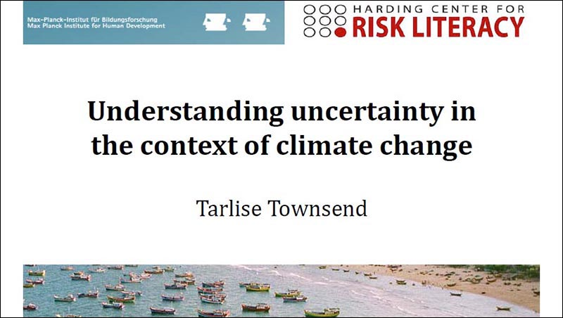 Understanding Uncertainty in the Context of Climate Change