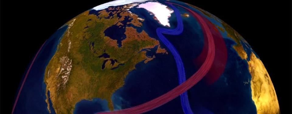 Illustration of the global ocean conveyor.