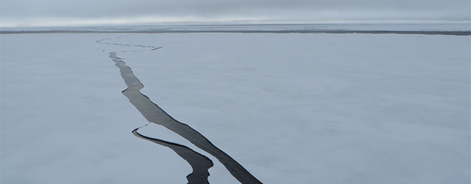 Beaufort Sea, north of Alaska