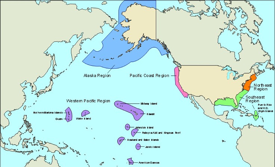 What Is The Eez - Pacific-ocean-us-map