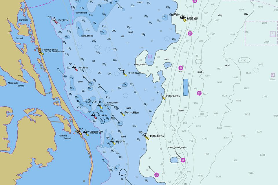 What Is A Nautical Chart
