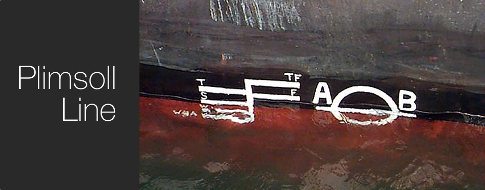 What is a Plimsoll line?