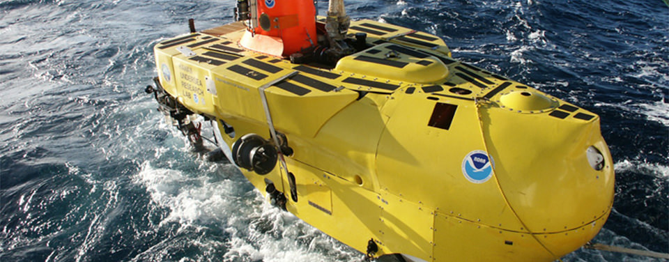 An image of Pisces V,a deep-submergence vehicle (DSV)