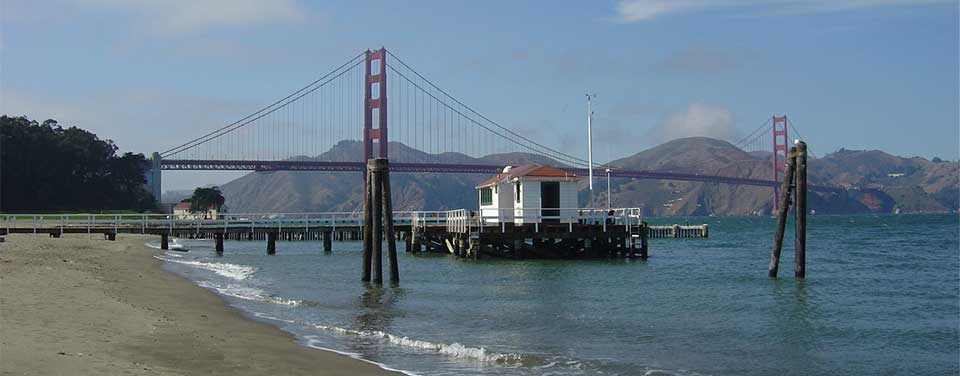The  NOAA San Francisco Tide Station, in operation for more than 150 years.