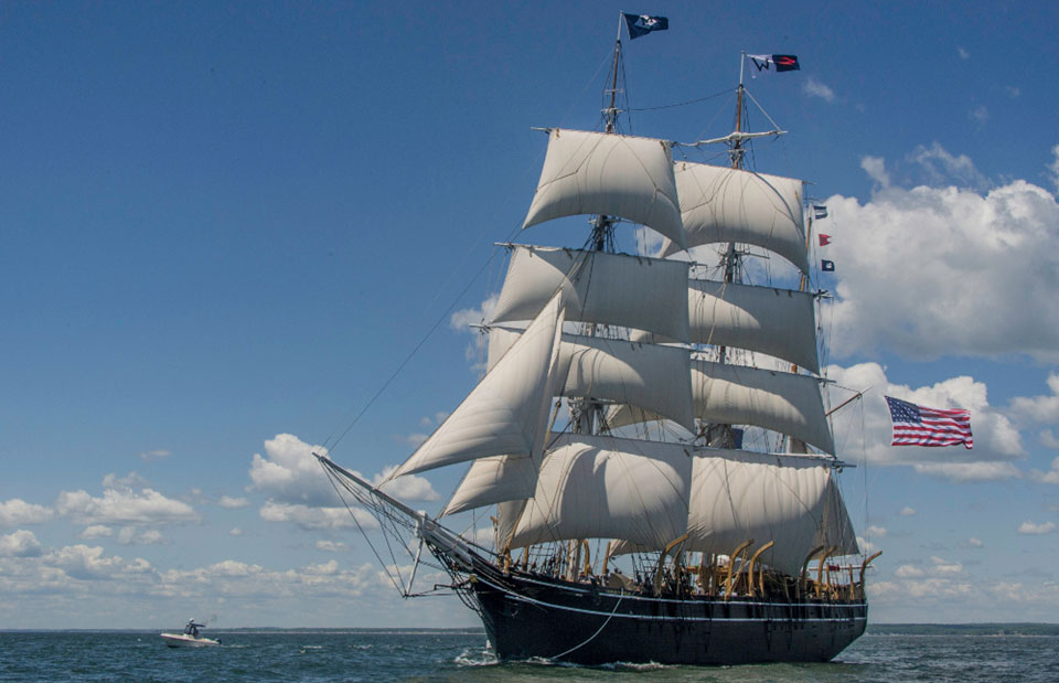 clipper ship Noonday