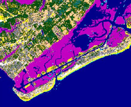land cover data map