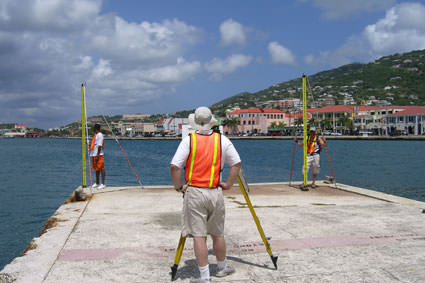 Geodetic Survey in the U.S. Virgin Islands