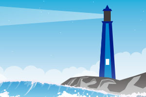 graphic of lighthouse