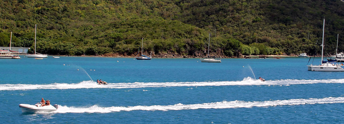 recreational boaters in St. Thomas