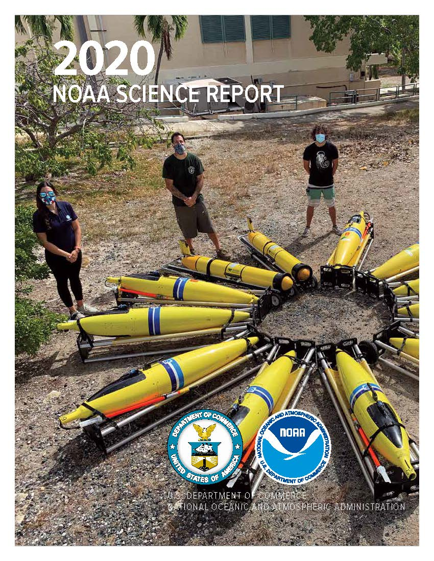 cover of the 2020 NOAA Science Report