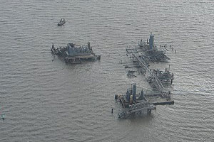 The two back-to-back hurricanes devastated the Gulf Coast in 2005, causing damage that led to numerous oil and chemical spills along the heavily industrialized coast