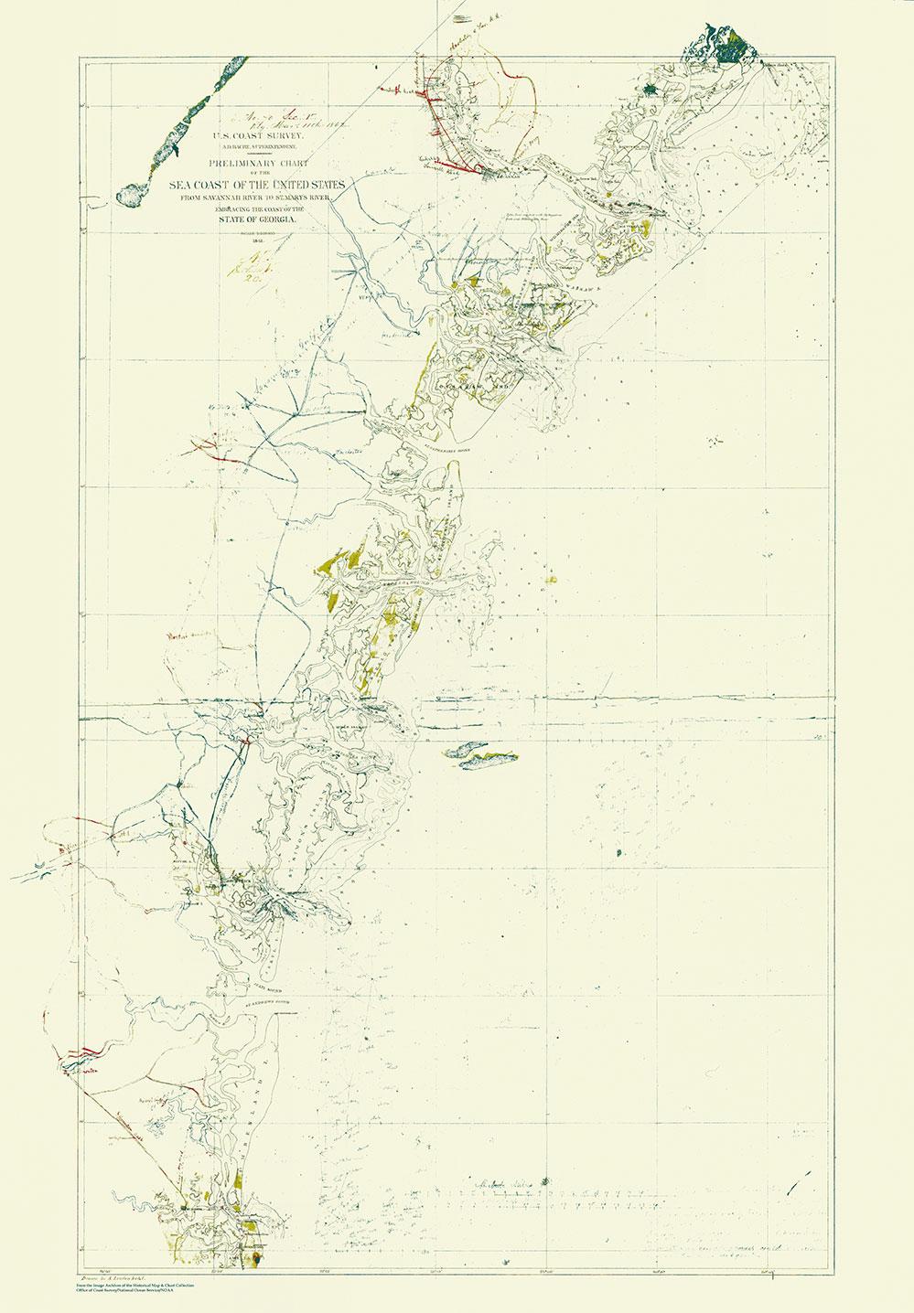 New Online a NOAA Civil War Collection