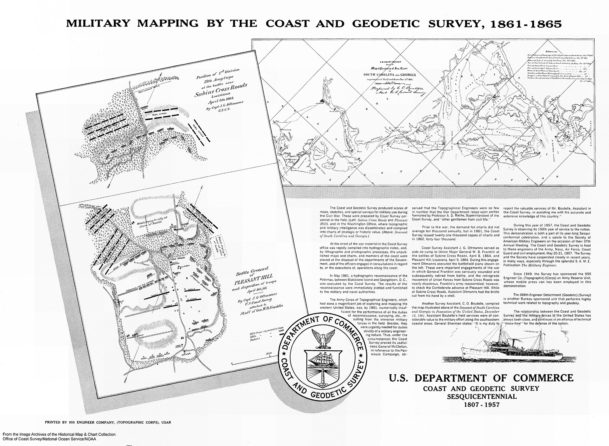 New Online A NOAA Civil War Collection - Us coast and geodetic survey maps