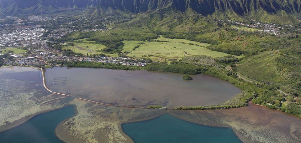 He'eia National Estuarine Research Reserve. Credit: Manual Meija, The Nature Conservancy