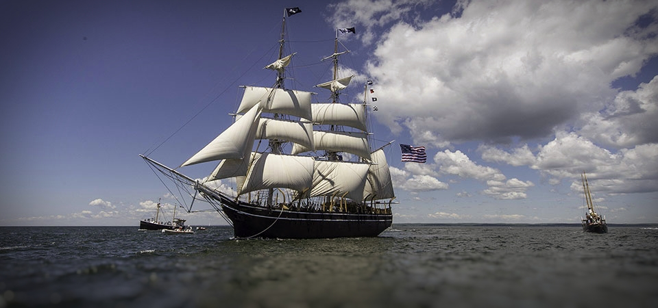 the whaleship Charles W. Morgan