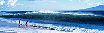 a shorebreak