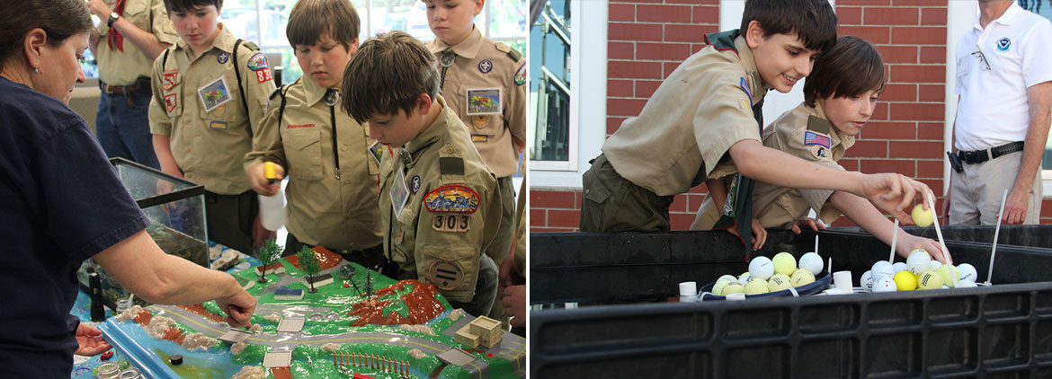 NOAA Hosts Oceanography Merit Badge Event: Video and Story