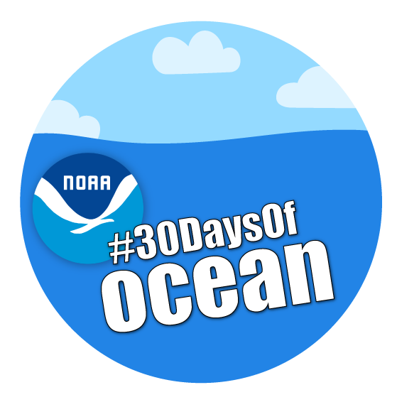 30 days of the ocean logo