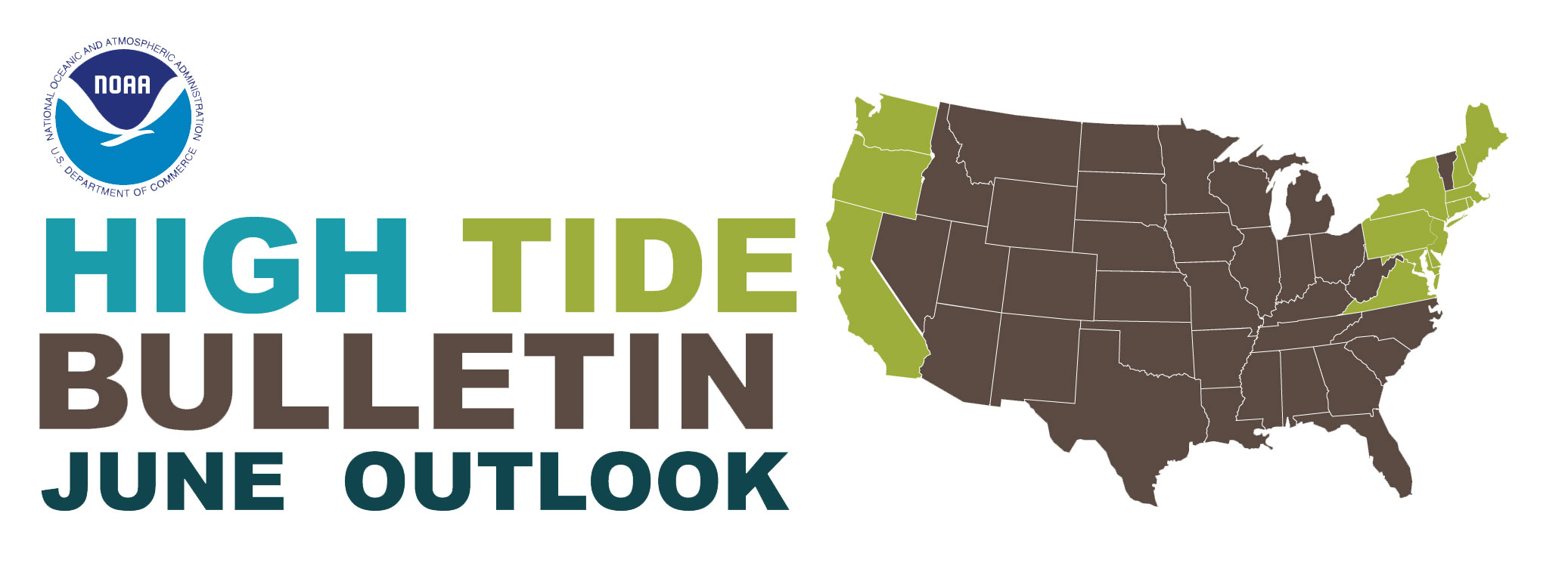 NOAA High Tide Outlook for June