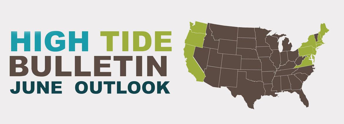 high tide outlook for June