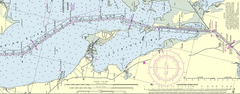 A view of PDF chart of Cape Henry to Currituck Beach Light