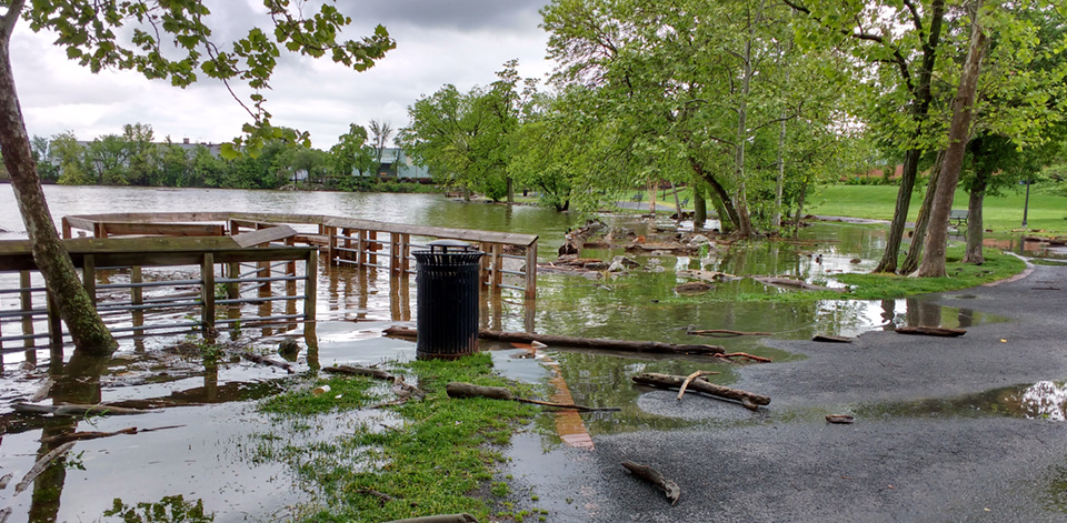 nuisance flooding in Alexandria, Virginia; image credit Chris Zervas/NOAA
