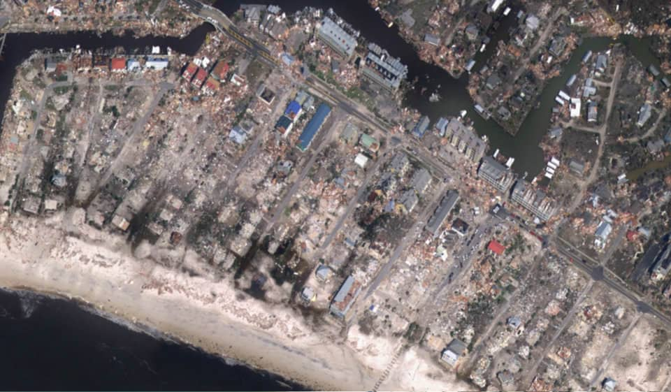 Hurricane Michael Damage Assessment Imagery