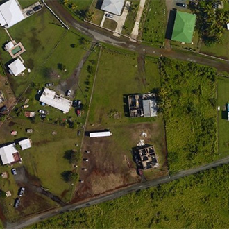 aerial imagery after Irma