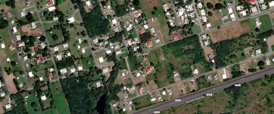 Hurricane Maria Flooding Damage Assessment Images - Latest Arial Map Us