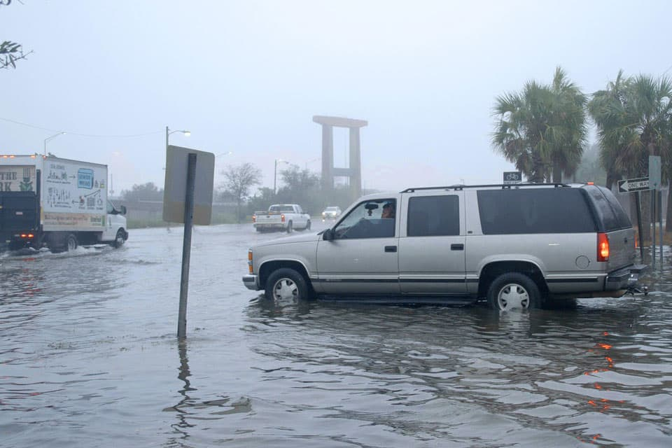 coastal flooding in South Carolina