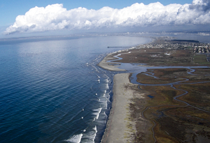 The Tijuana River National Estuarine Research Reserve in California is one of four estuaries that experiences a high level of climate sensitivity, according to a new NOAA study.