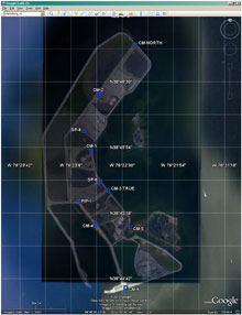 map of survey