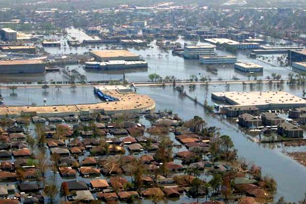 hurricane katrina global warming essay
