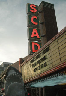 SCAD theater in Savannah