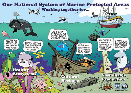 First members of the national system of marine protected areas