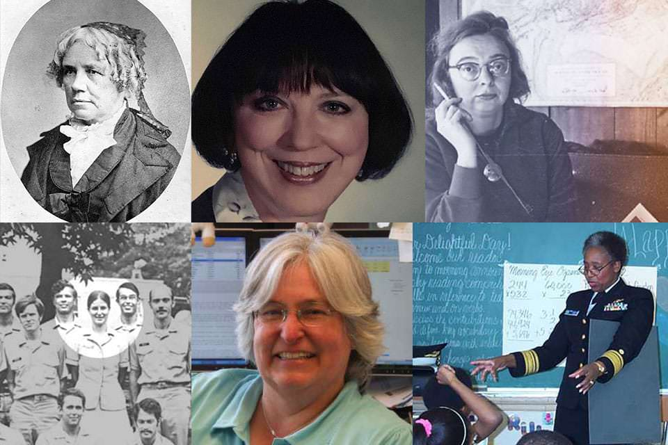 collage of NOAA pioneers featured in this article