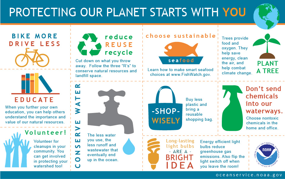 Protecting Our Planet Starts With You