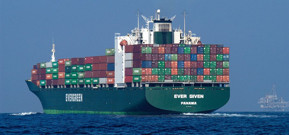 Container ship. Image credit: Robert Schwemmer, NOAA National Marine Sanctuaries
