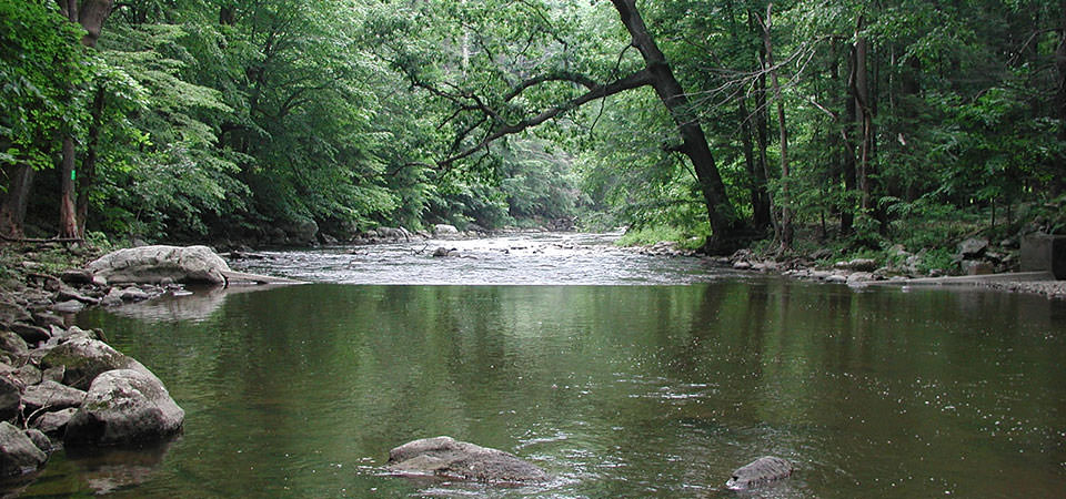 New Jersey river. Credit: USGS