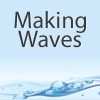 Making Waves podcast cover art