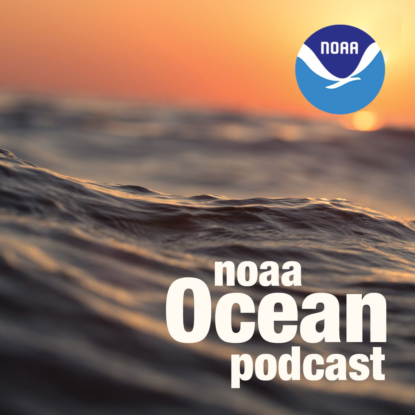 NOAA Ocean podcast icon
