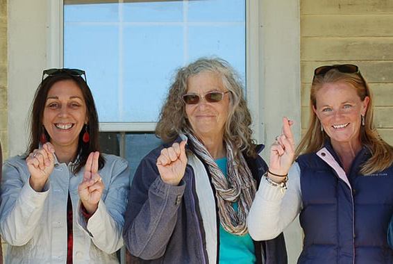 National estuarine research reserve staff and partners for sign language