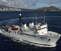 NOAA ship Hi'ialakai, Honolulu, Hawaii