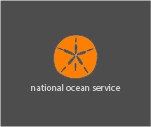 Sand dollar illustration with NOAA logo..